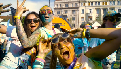 Color Run Cluj 2015